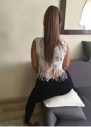 Alev-alev otelde buluşan hanım Cankat